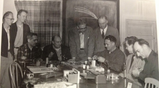 FLY TYING CLASS 1946 BY ROY PATRICK